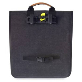 Basil Urban Dry Luggage Pannier Shopper 25l charcoal melee